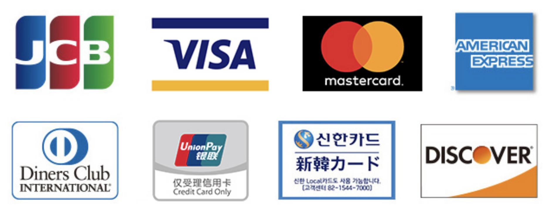 ファミリーマートで利用できるクレジットカード一覧