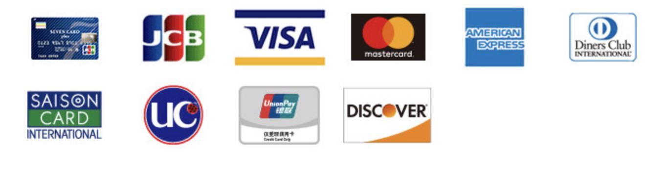 セブンイレブンで利用できるクレジットカード一覧