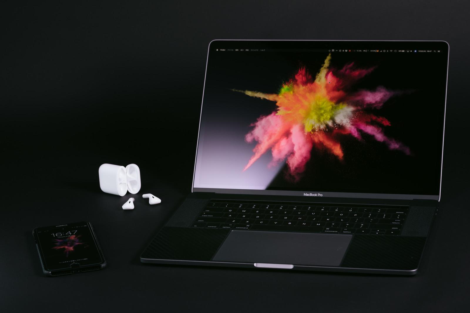 Macの壁紙を変える 変更する方法 サブディスプレイも変更可能