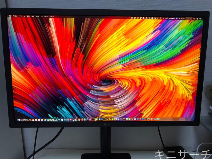 LG UltraFine 4K Displayのみの画像