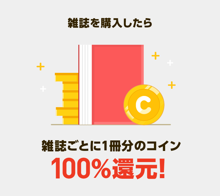 マンガ雑誌 配信記念キャンペーン2