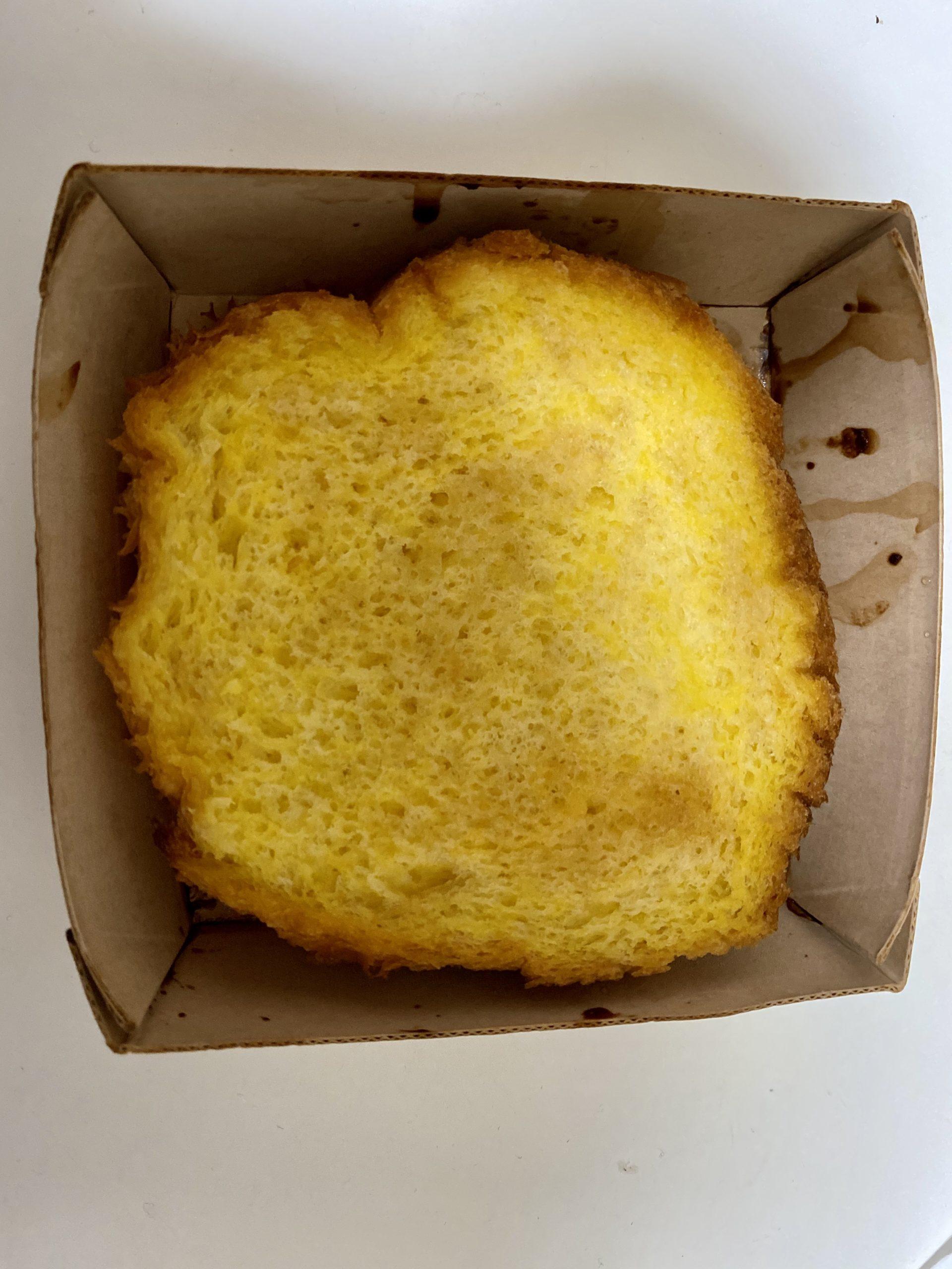 ふわふわ、とろとろの厚切りフレンチトースト開封