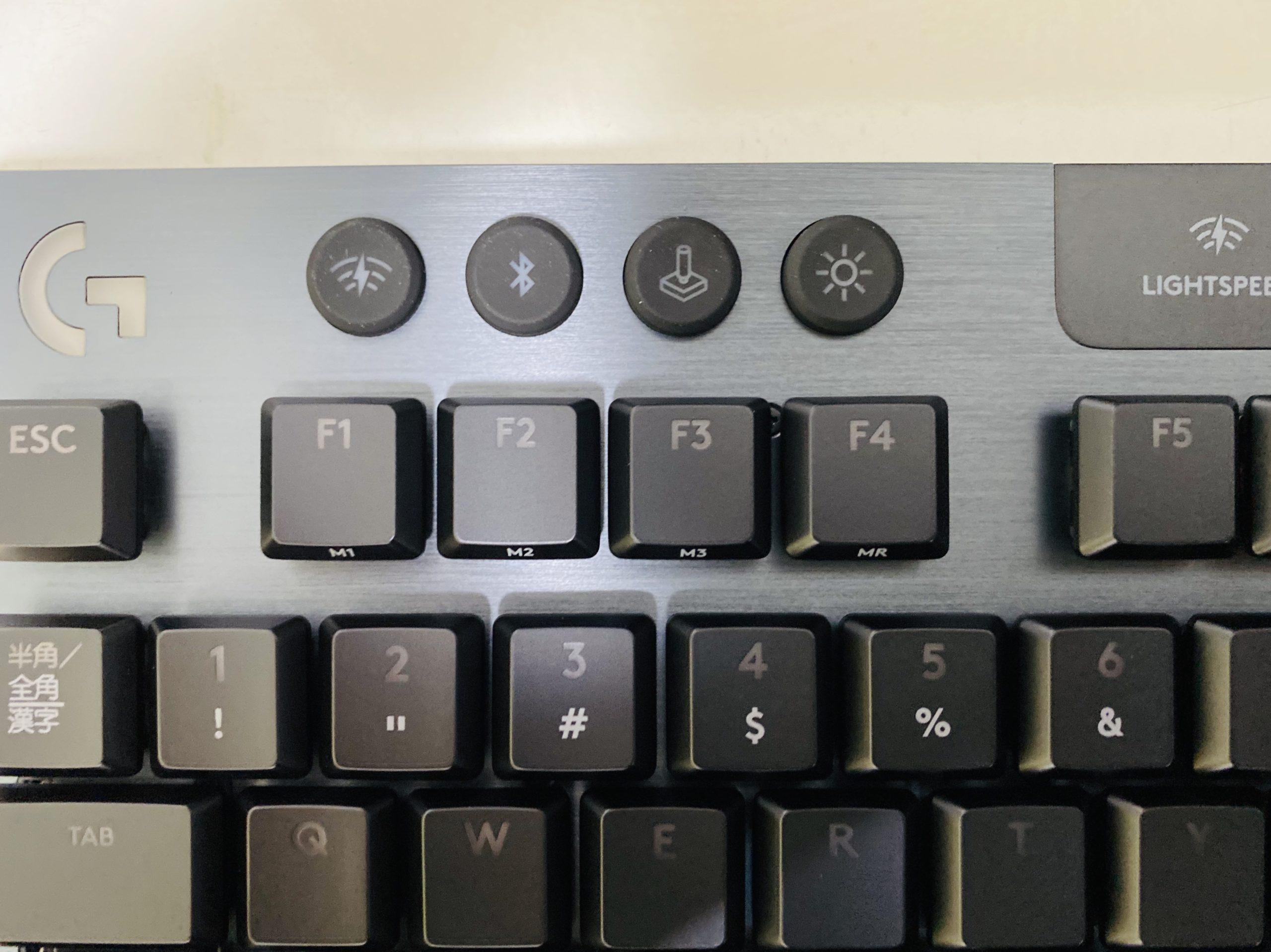 Logicool G913-TKL-LNBKボタン1